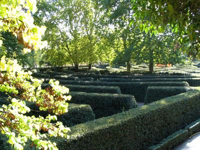 El laberinto mas grande de espa a blog for Jardin laberinto