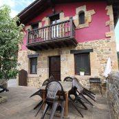 Patio Exterior Casa Vallejo - Casa rural en Cantabria