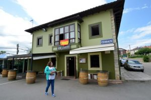 Bar cuesta en Cerrazo