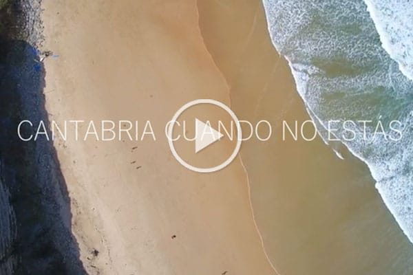 Cantabria cuando no estas, video de cantabria